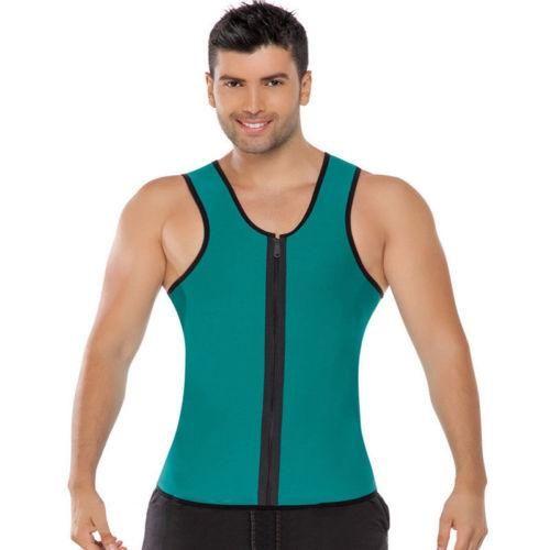 d3e64095f03 Men Shapers Neoprene Vest Sauna Ultra thin Sweat Shirt Body Shaper slimming  Corset Men s Underwear Fitness Shapers