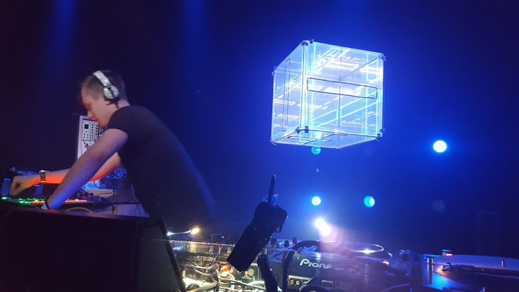 Infinity cube for #pliuspliusplius party in VIlnius club Opium.
