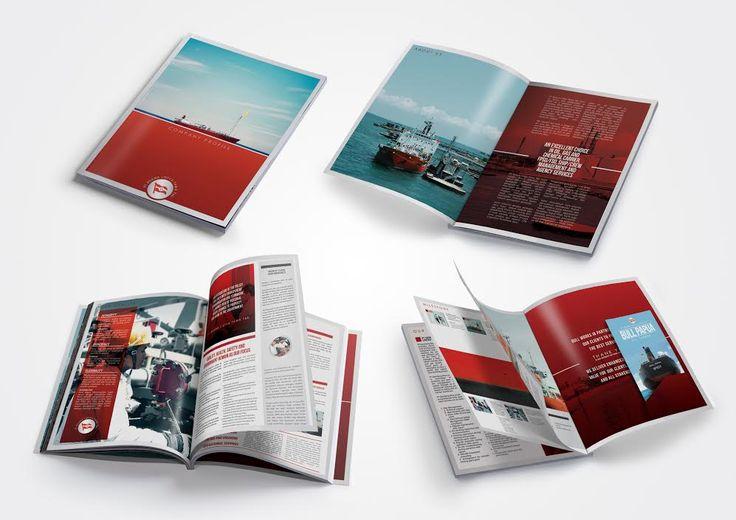 Oil Fleet Company Profile design by SIGNIFICAN significan-design.com