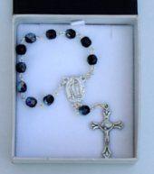 Black Handheld Rosary.