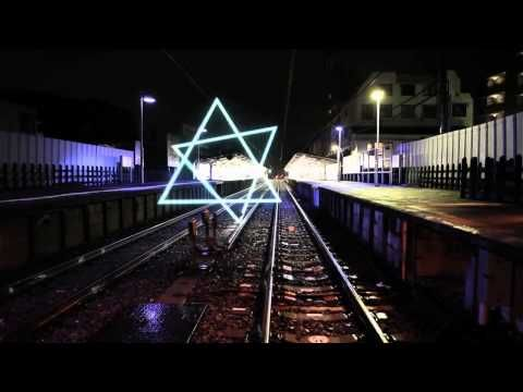 YouTube geometry in tokio street motion graphics. After effects