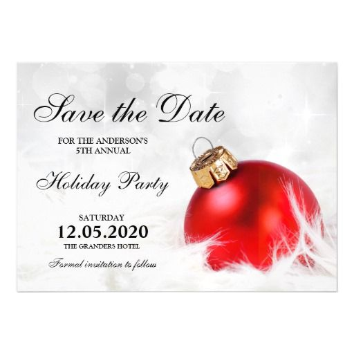 Best Christmas And Holiday Party Save The Date Images On