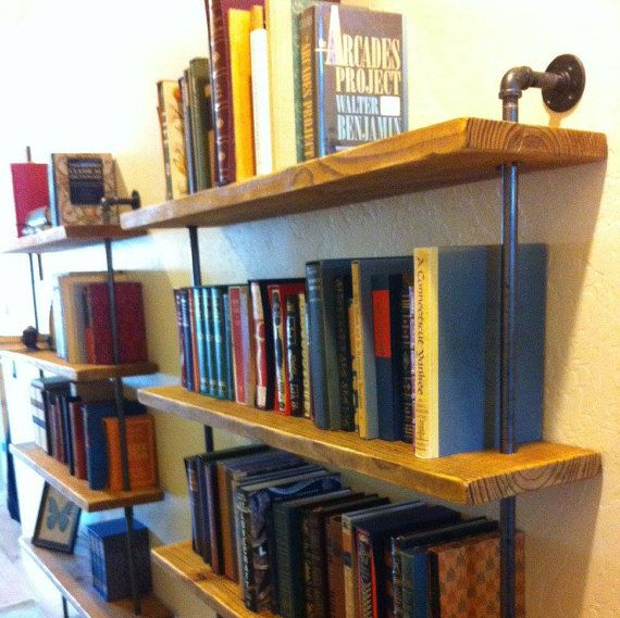 This Versatile Wall Shelving Unit Will Go Just About Anywhere. It Has 5  Shelves That
