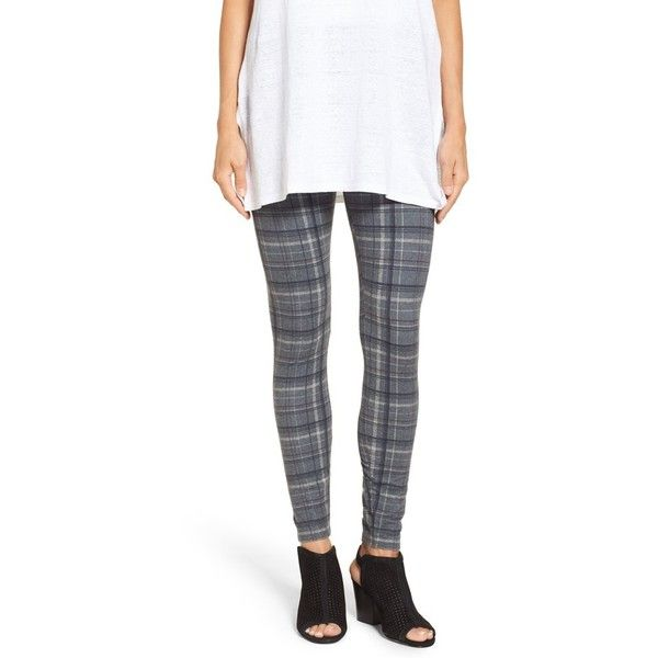 Women's Lysse 'Arbor' Leggings (130 NZD) ❤ liked on Polyvore featuring pants, leggings, plaid flannel, tartan plaid pants, plaid flannel pants, tartan trousers, plaid trousers and tartan leggings