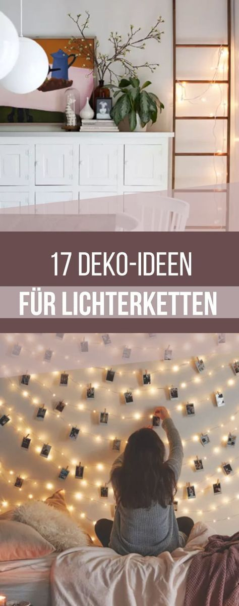 17 ways to decorate every corner of your home with fairy lights