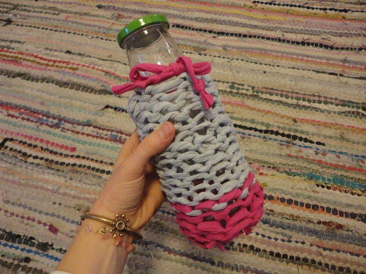 DIY eco water bottle 3