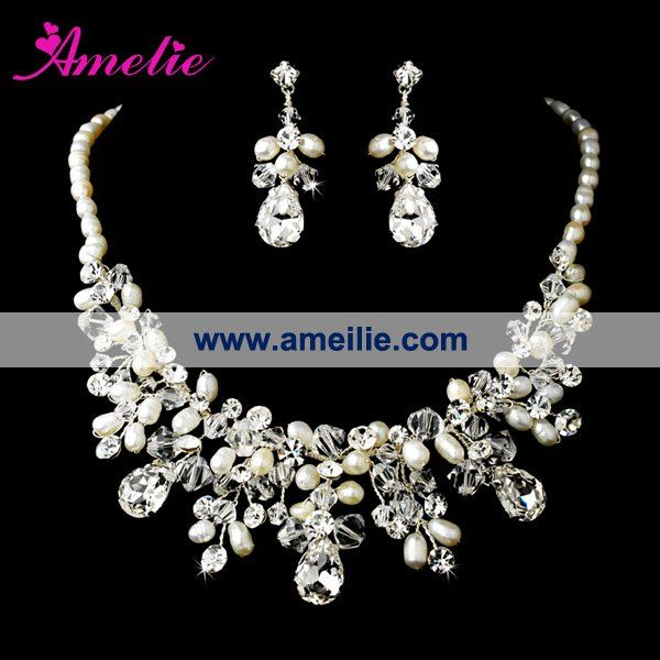 51 best My Wedding Gown Necklace images on Pinterest Jewerly