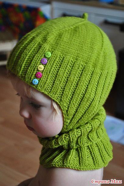 """Монпансье"" комплект шапочка+манишка+варежки - Вяжем вместе он-лайн - Страна Мам"