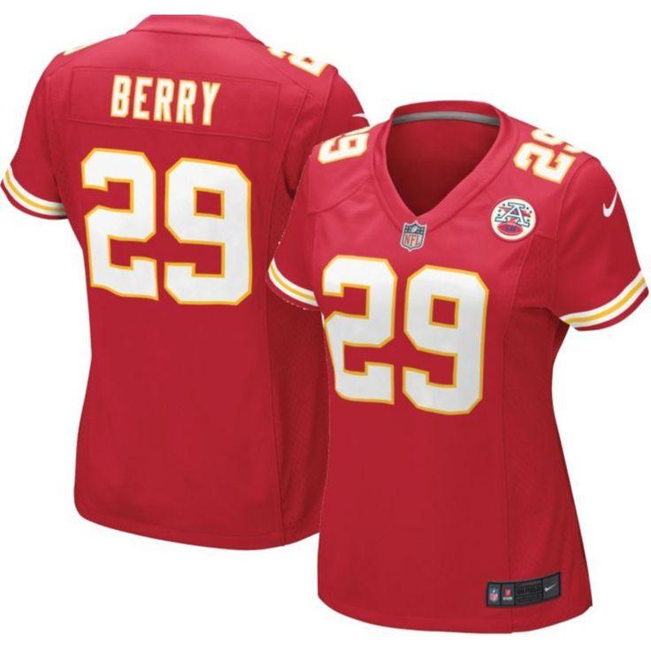 Nike Women's Home Game Jersey Kansas City Eric Berry #29, Size: Medium, Team