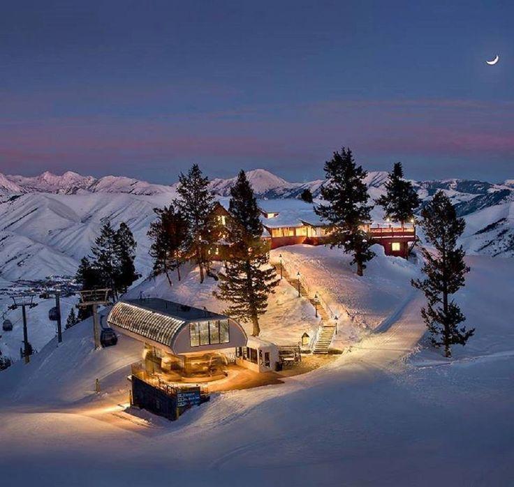 Sun Valley, Idaho, USA in winter
