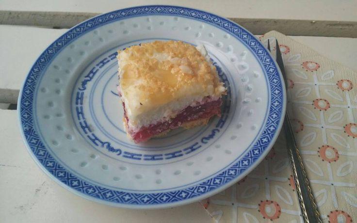 Ciasto Malinowe z bezą