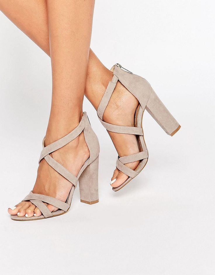 Image 1 of Miss KG Sian Strappy Block Heeled Sandals