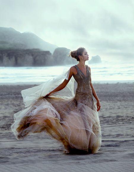 dress. wind. melting!
