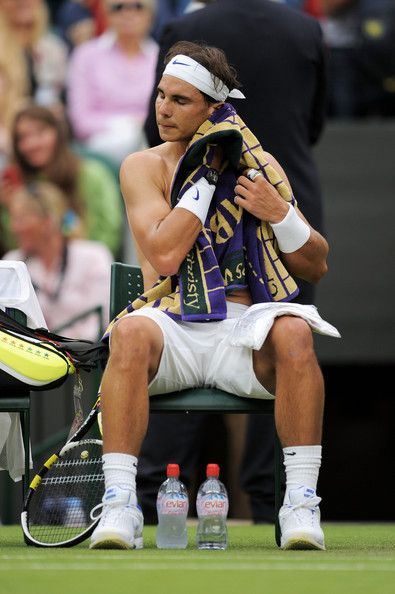 Rafael Nadal Photos - The Championships - Wimbledon 2011: Day Three - Zimbio