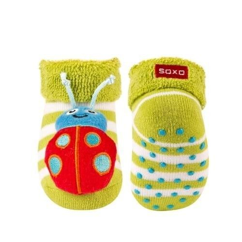 SOXO Infant socks with rattle PREMIUM   BABIES \ Socks   SOXO socks, slippers, ballerina, tights online shop
