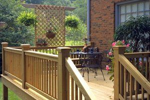 125 best images about deck patio makeover ideas on pinterest wood decks concrete patios and. Black Bedroom Furniture Sets. Home Design Ideas