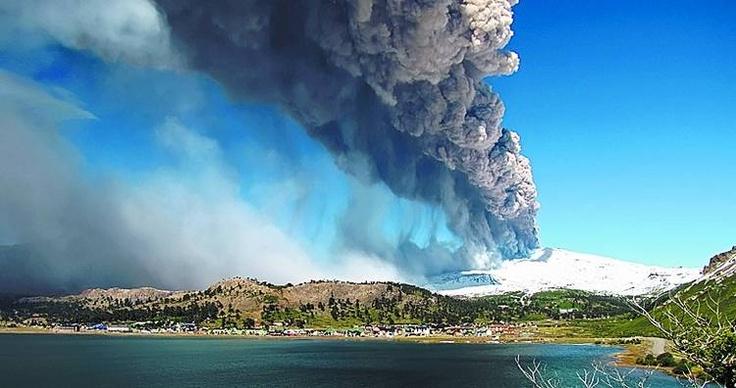 Erupción del volcán Puyehue