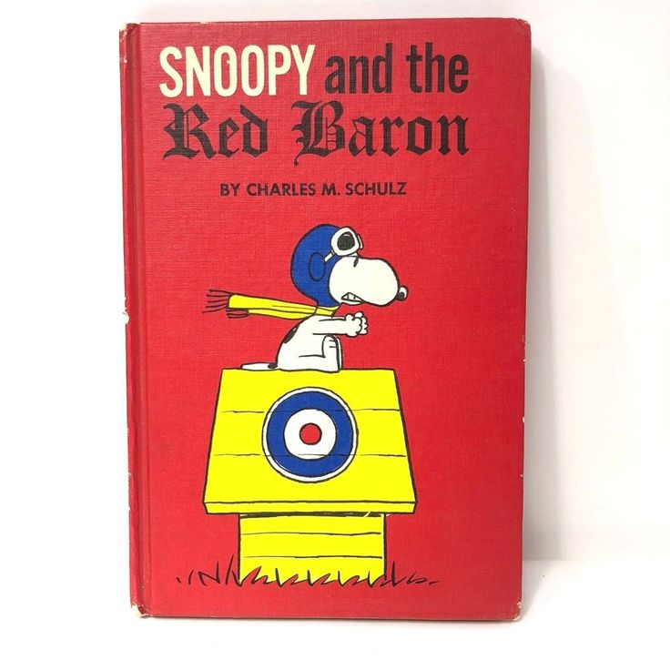 SNOOPY AND THE RED BARON By CHARLES M. SCHULTZ 1966 First/1st Ed Not Book Club