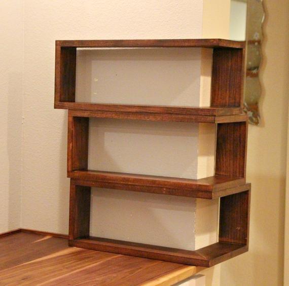 Custom Floating Wrap Around Wall Shelves Wall Mounted Mitred Etsy Corner Shelves Wall Shelves Shelves