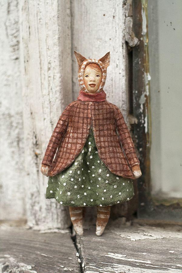 """МК """"Ватные игрушки. Дети в костюмах зверей"""" будние - Ярмарка Мастеров - ручная работа, handmade"""