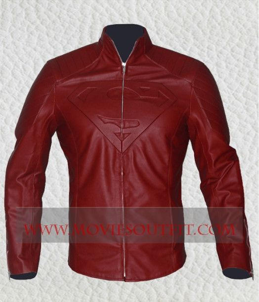 Superman Smallville Maroon Leather Jacket Mens Leather Jacket Superhero Outfits from the online clothing store Moviesoutfit.com #mensjacket #supermanjacket #leatherjacket #smallvilleTVSeries #TVSeries #jacket