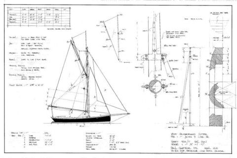 18FT Half-Decked Racing Gaff Cutter, Design #93 | Boats | Pinterest | Dinghy, Racing and Products