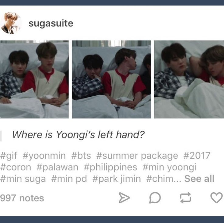 Yoonmin Jimin Sat On His Left Hand Yoongi Is Enjoying It Bts Funny Yoonmin Bts Memes