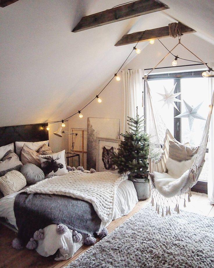 Inspiration déco hygge chambre - 9 chambres à coucher cocooning à recopier - 18h39.fr