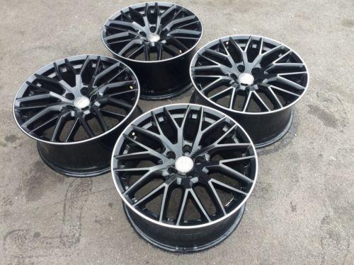Genuine-19-034-Audi-A5-Black-Edition-S-Line-Alloy-Wheels-Latest-Design-A4-A3-A6
