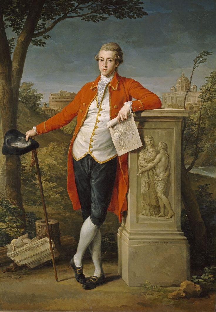 Pompeo Batoni: Francis Basset, I Barón de Dunstanville, 1779. Museo del Prado
