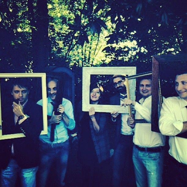 photo booth con cornici Matrimonio Mamme a Spillo