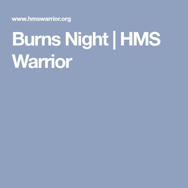 Burns Night | HMS Warrior