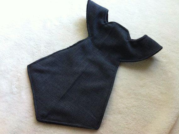 Boy's Bib Neck Tie Shaped for Baby & by peaceloveandbabyshop, $6.00