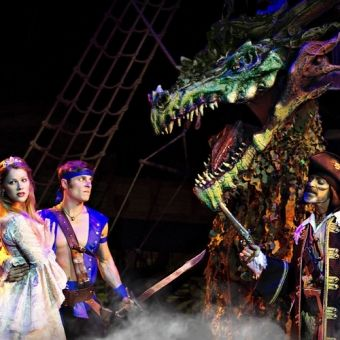 Enter the world of plundering pirates as you step into this interactive Pirate Dinner Adventure in Buena Park!