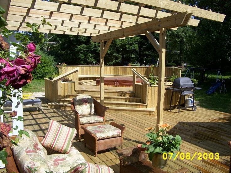 Nice Patio Decks : patio decks  nice  Decks  Pinterest
