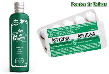 Leite de Côlonia+ Aspirina = Seca espinhas Tira manchas e acaba com Cravos! | Dona de Casa Perfeita