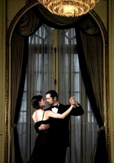 ballroom dances.....Yep finally got my husband to do this for our anniversary......