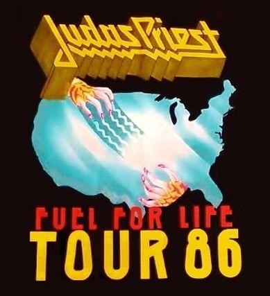 Judas Priest Fuel For Life Tour 1986