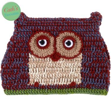 Crochet owly tea cosy ha ha I love it!