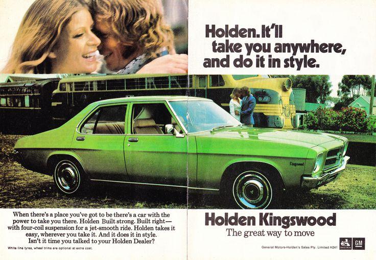 https://flic.kr/p/f7PKST | 1973 HQ Holden Kingswood Sedan 2 Page Aussie Original Magazine Advertisemet