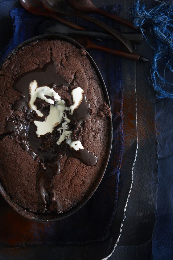 Self Saucing Chocolate Puddings | Delicious | Pinterest