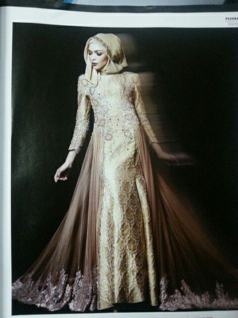 My dream wedding dress...songket modern for muslimah wedding dress...look sweet,elegant n gorgeous