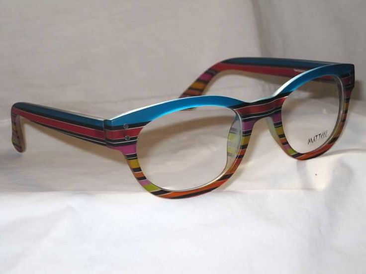 mattisse painted italian eyewear handpainted