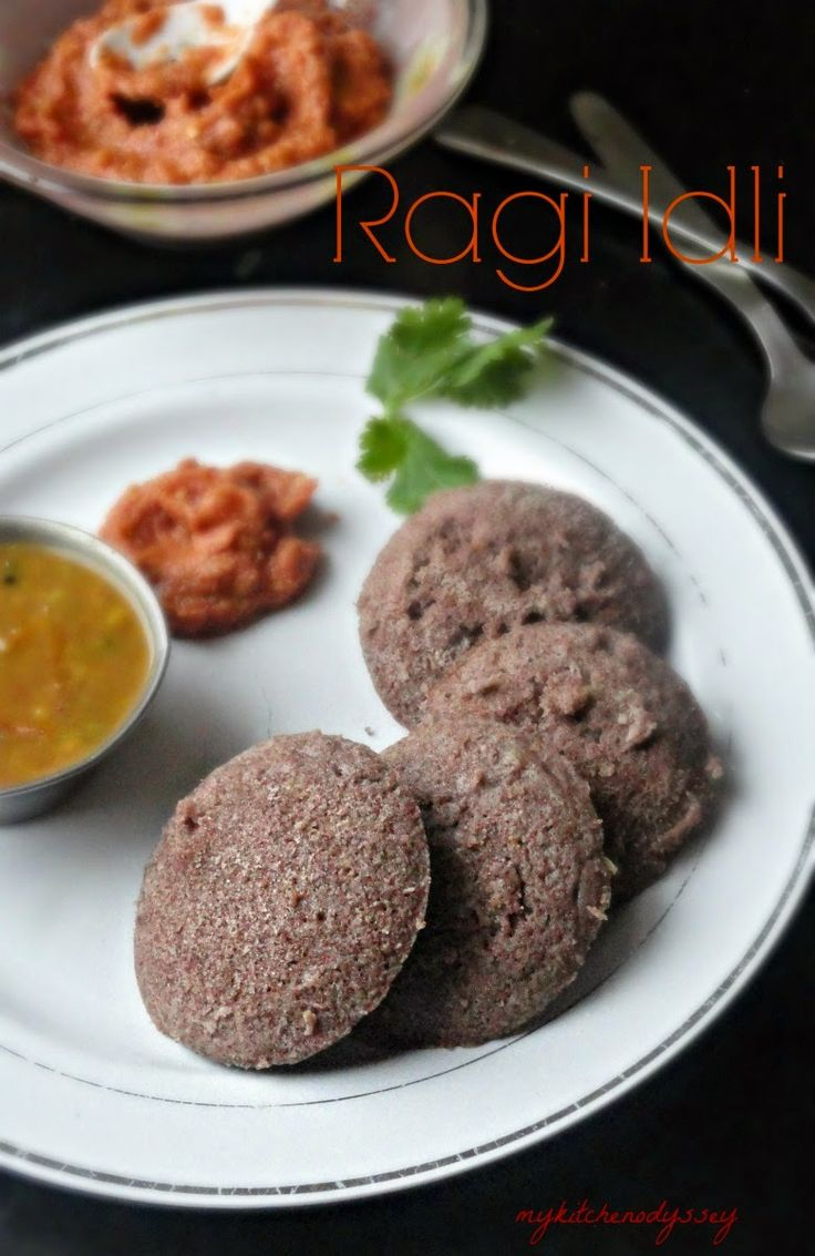 Ragi Idli made with ragi flour and urad dal batter.Easy and healthy south Indian breakfast.