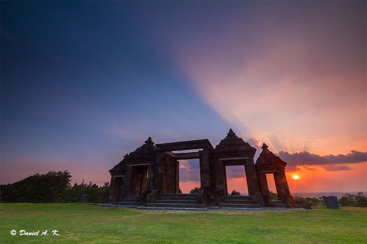 Sunset of Ratu Boko Temple by Daniel Antonius Kristanto on 500px