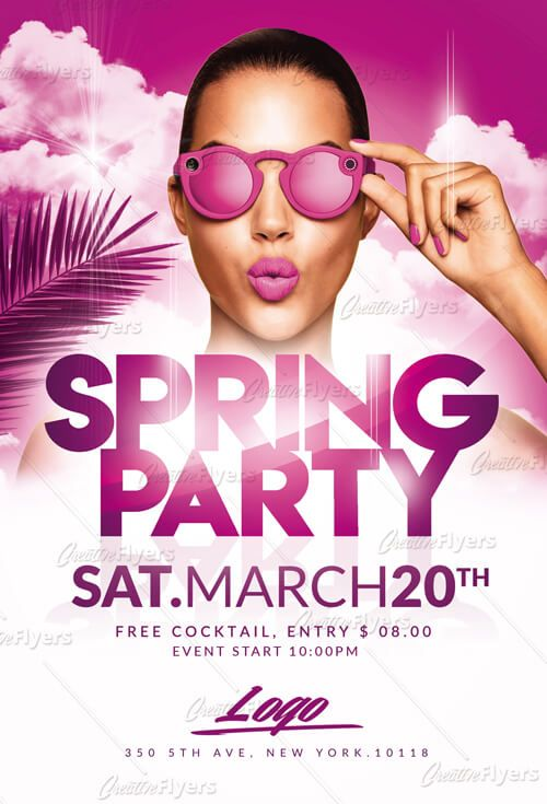 Check out Spring Break Flyer Psd Templates Graphic Design