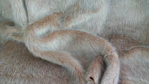 oferta!!!! mantas de piel sintética pelo largo