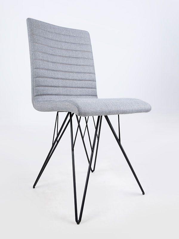 Jídelní židle s kovovou podnoží Salvo (SET 2 ks) - 3