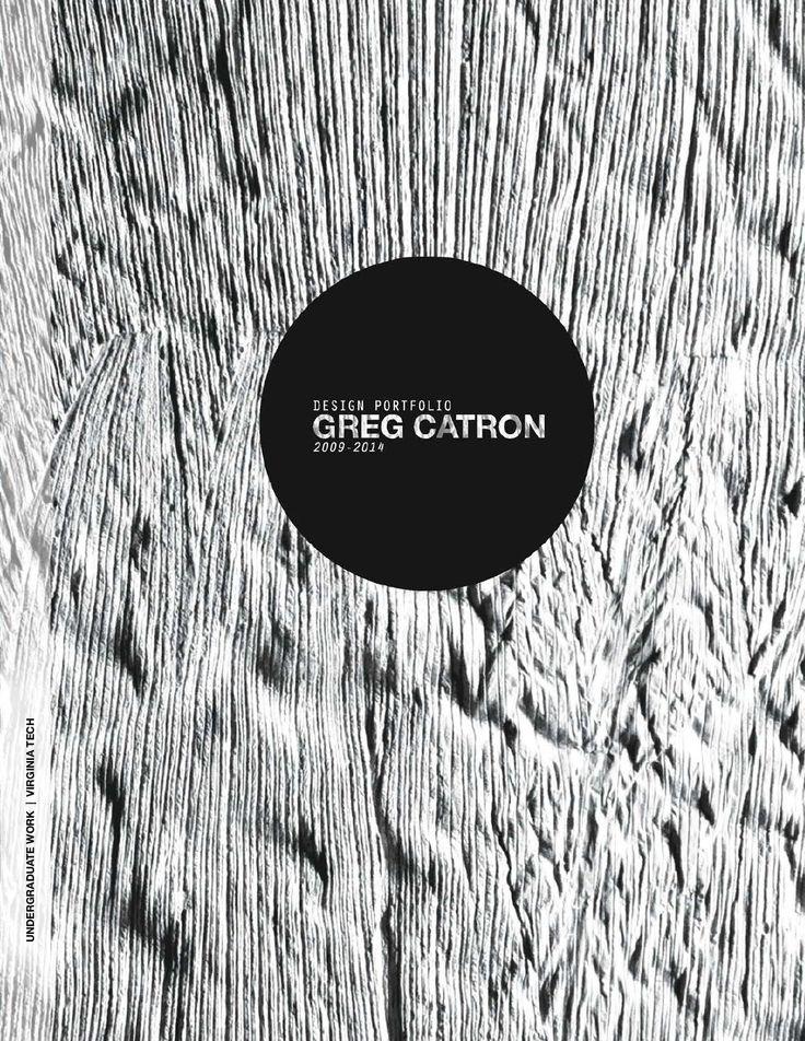 Gregory Catron Architecture Design Portfolio