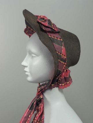 1860's (MFA dates it '55 but the rise of the brim looks later to me)
